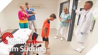 Bekommt dieser Junge auch ohne Operation wieder gerade Beine? | Klinik am Südring | SAT.1 TV