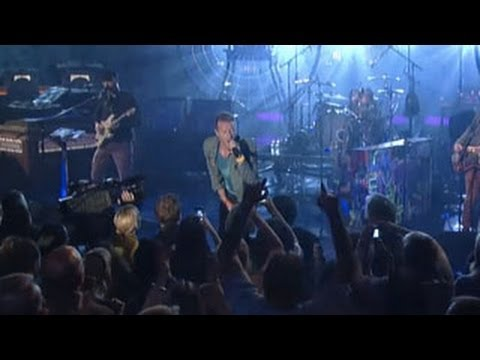 Coldplay - Viva La Vida (Live on Letterman)