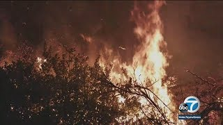 Thomas Fire burns 115,000 acres in Ventura County | ABC7