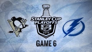 Pens force Game 7 with 5-2 Game 6 win against Bolts