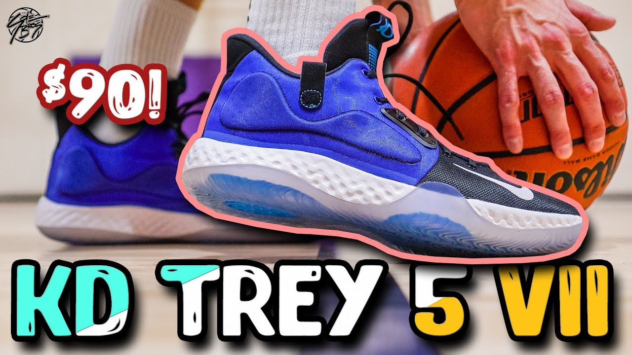 Nike KD TREY 5 VII Performance Review!