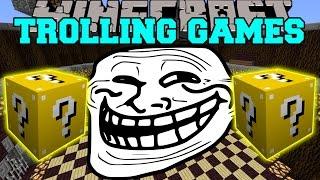 Minecraft: LEGENDARY BEASTS TROLLING GAMES - Lucky Block Mod - Modded Mini-Game