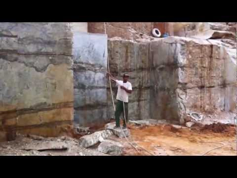 Visit to Lapidus, Golden Crystal and Azurite quarries, Brazil