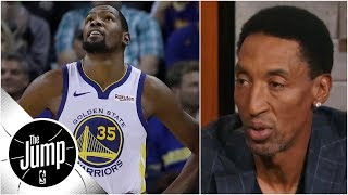 Scottie Pippen: Kevin Durant in 'chill mode', not chasing scoring GOAT title  | The Jump