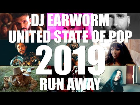 DJ Earworm Mashup - United State of Pop 2019 (Run Away)