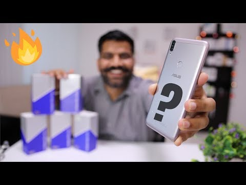 ASUS Zenfone Max Pro M1 6GB RAM & Better Camera - Unboxing and First Look + Giveaway