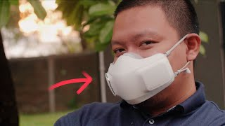 BUSET! Masker aja sekarang sudah makin SMART! // LG Puricare Mask Wearable Air Purifier
