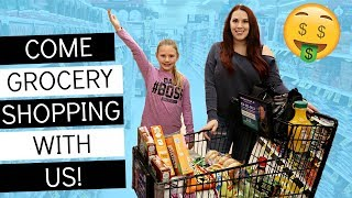 GROCERY SHOP WITH US! LARGE FAMILY GROCERY HAUL