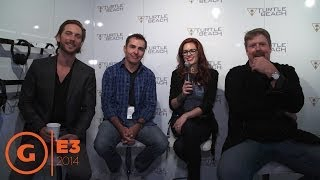 Interview with John DiMaggio,  Nolan North &  Troy Baker - Floor Report E3 2014