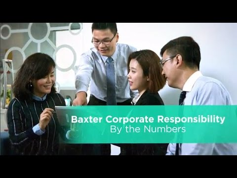 Baxter's Corporate Responsibility by the Numbers
