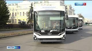 В Омск прибыло ещё 17 новых троллейбусов «Адмирал»