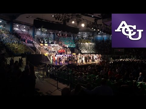 The Lord Bless You and Keep You – ACU Sing Song