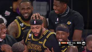 Anthony Davis Wins it at the Buzzer - Game 2 | Nuggets vs Lakers | September 20, 2020 NBA Playoffs