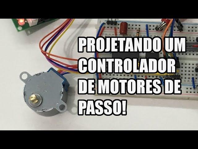 VAMOS PROJETAR UM CONTROLADOR DE MOTORES DE PASSO! | Usina Robots US-3 #007