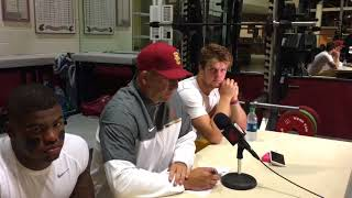 USC HC Clay Helton Talks WSU Defeat
