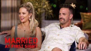Jess and Mick open up about 'intimacy' with the experts | MAFS 2019