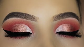 Peachy Eye Makeup Tutorial using $6 Palette?!
