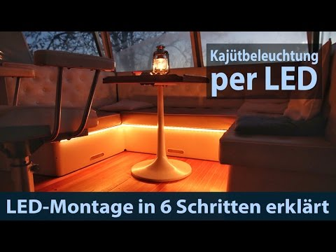 led streifen stripe montage lichtleiste anbringen kaj tbeleuchtung. Black Bedroom Furniture Sets. Home Design Ideas