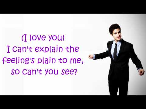 Glee- Silly Love Songs (Lyrics)