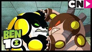 Un Cannonbolt Malvado   Alienígenas Del Pasado, Presente   Ben 10 en Español Latino  Cartoon Network