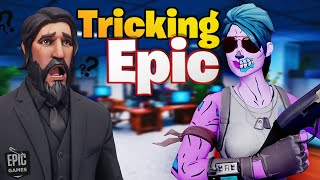 I TRICKED Fortnite into thinking I was a BOT! (HILARIOUS)