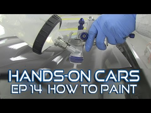 How To Paint a Car - Hands-On Cars 14: Painting The Camaro!  Kevin Tetz & Eastwood
