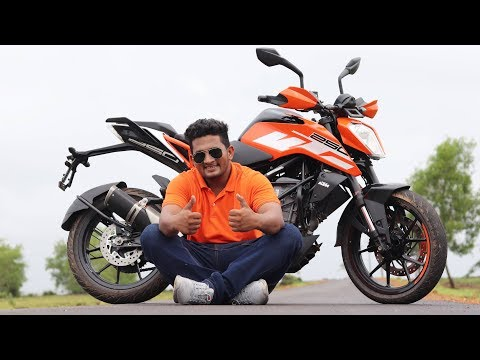 video KTM Duke 250 BS6
