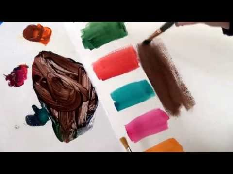 Mixing Colors Without Getting Mud
