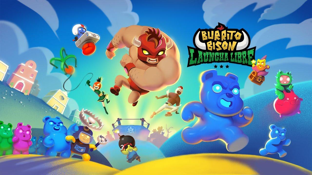 Играй Burrito Bison: Launcha Libre На ПК 2