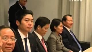 Phó Thủ tướng Vũ Văn Ninh thăm chính thức Thụy Điển