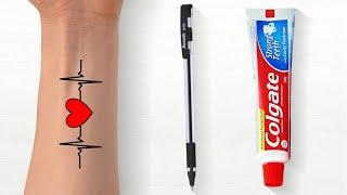 How To Make Tattoo   small tattoos for men   tattoo design   tattoo for girls   hand tattoo   tattoo