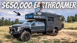 WE LIVED IN A $650,000 EARTHROAMER (full tour)
