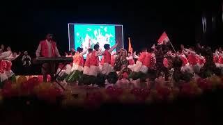 Beautiful performance by students of mvm jammu