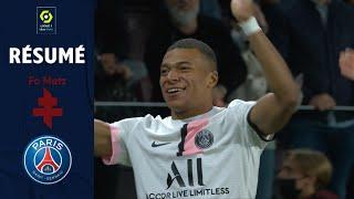 FC METZ - PARIS SAINT-GERMAIN (1 - 2) - Résumé - (FCM - PSG) / 2021-2022