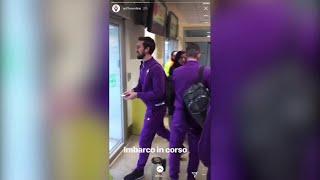 Morte Astori, l'ultimo viaggio con la Fiorentina verso Udine