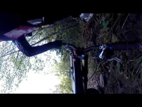 Паѓања со велосипед на Водно
