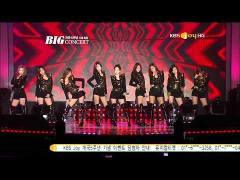 111101 SNSD-Hoot+Run Devil Run @KBS Joy 5th Annivesary Big Concert