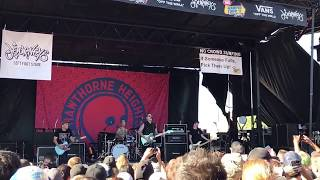 Hawthorne Heights This is Who We Are live warped tour 2017