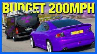 Forza Horizon 4 : The Budget 200MPH Challenge!!
