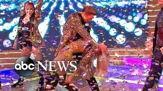 Derek, Julianne Hough Dance Live on 'GMA'