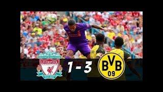 Liverpool vs Dortmund Highlights   Trận đấu cởi mở với nhiều bàn thắng đẹp