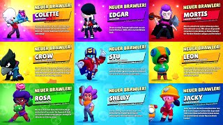 New Brawler Unlock Screen | All 45 Brawlers