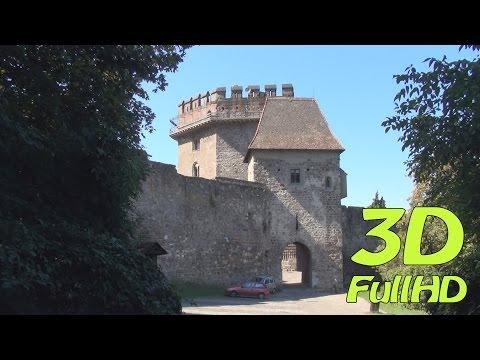 [3DHD] Solomon Tower / Salamon-torony / Wieża Salomona, Visegrád, Hungary / Magyarország