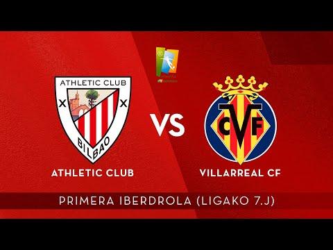 🎧 AUDIO LIVE | Athletic Club – Villarreal CF | Primera Iberdrola 2021-22 I J7. jardunaldia