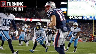 A Key Offsides Sparks a Patriots Touchdown Drive (AFC Divisional Round) | NFL Turning Point