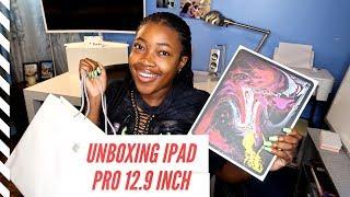 New iPad Pro 12.9 inch Unboxing & Hands On | FREE Beats Headphones !