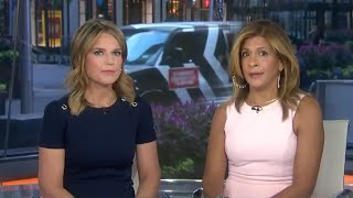 'Today' Anchors React to New Allegation of Rape Brought Against Matt Lauer