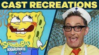 The Cast Recreates Your Favorite Scenes AGAIN! 🤩 + Bonus Trivia | #SpongeBobSaturdays