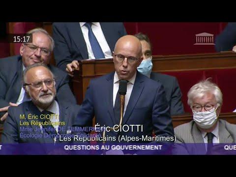 M. Éric Ciotti - Indépendance de la Justice