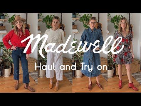 HUGE Madewell HAUL & Try On 2019 | Tiny Acorn